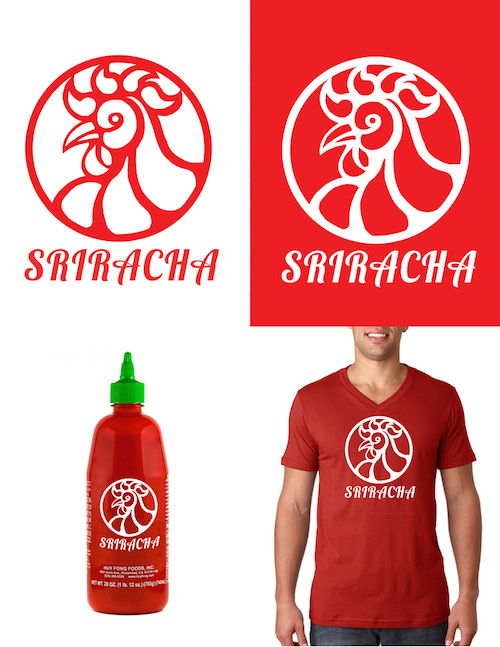 Sauce Logo Sriracha Sauce Logo Sriracha